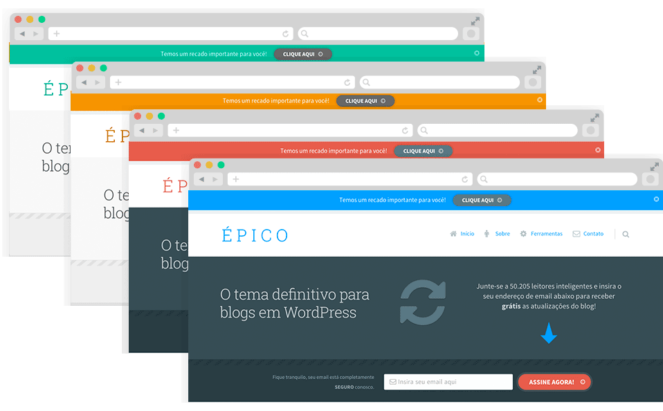 Épico - Template WordPress
